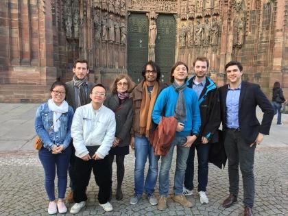 Group photo, April 2016