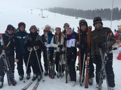Ski trip, February 2016
