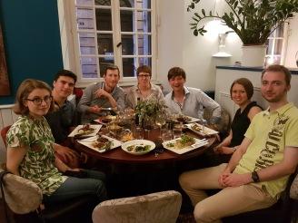 Sampling Strasbourg's culinary delights, May 2017